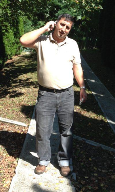 Nagy István öntözéstechnikai szakértő